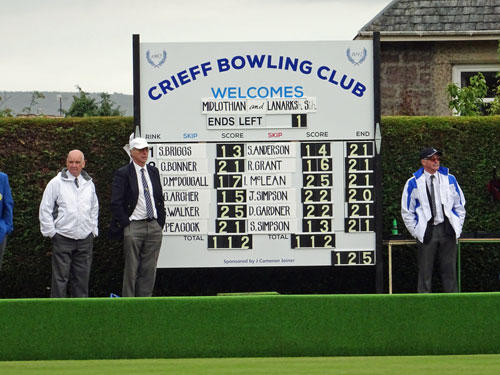 Perthshire Bowling Association - Andrew Hamilton Trophy 2017